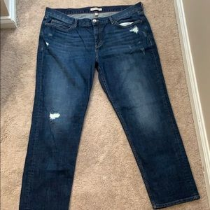 Banana republic heritage 33 x 28 straight jean